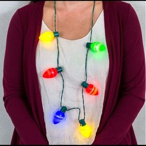 Jewelry - Christmas Lights Necklace 2 Pack